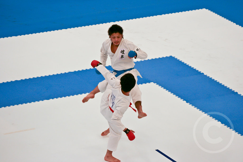 Karate Competition in Tokyo