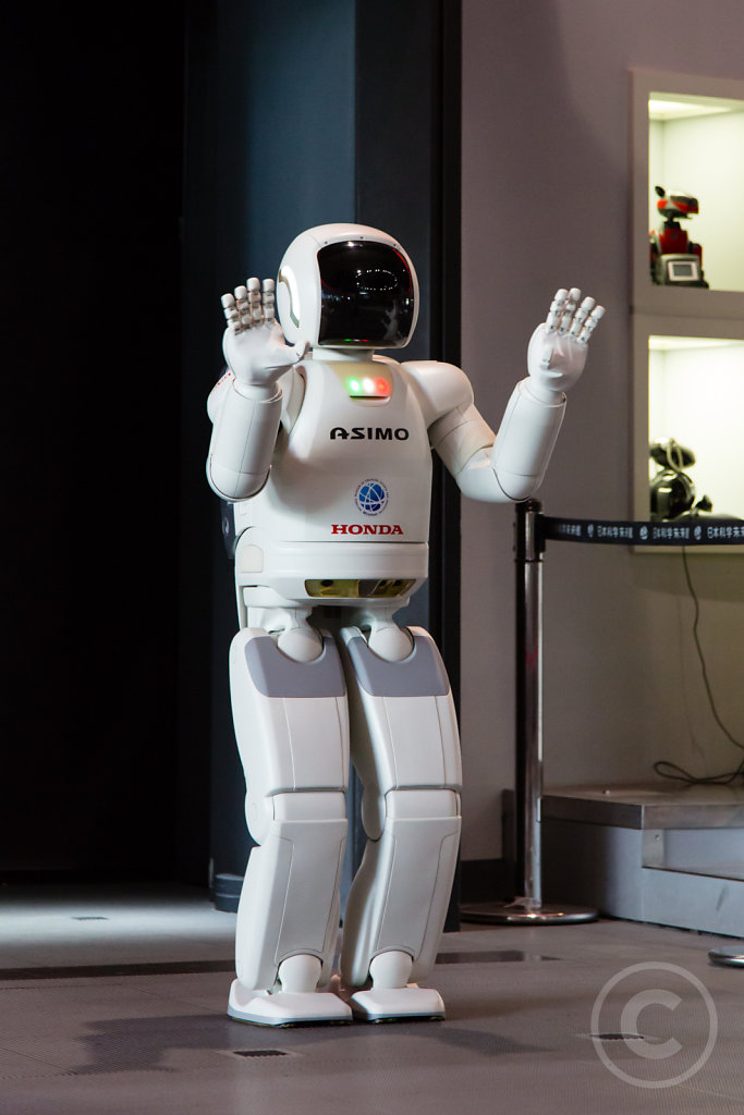 Asimo says good bye