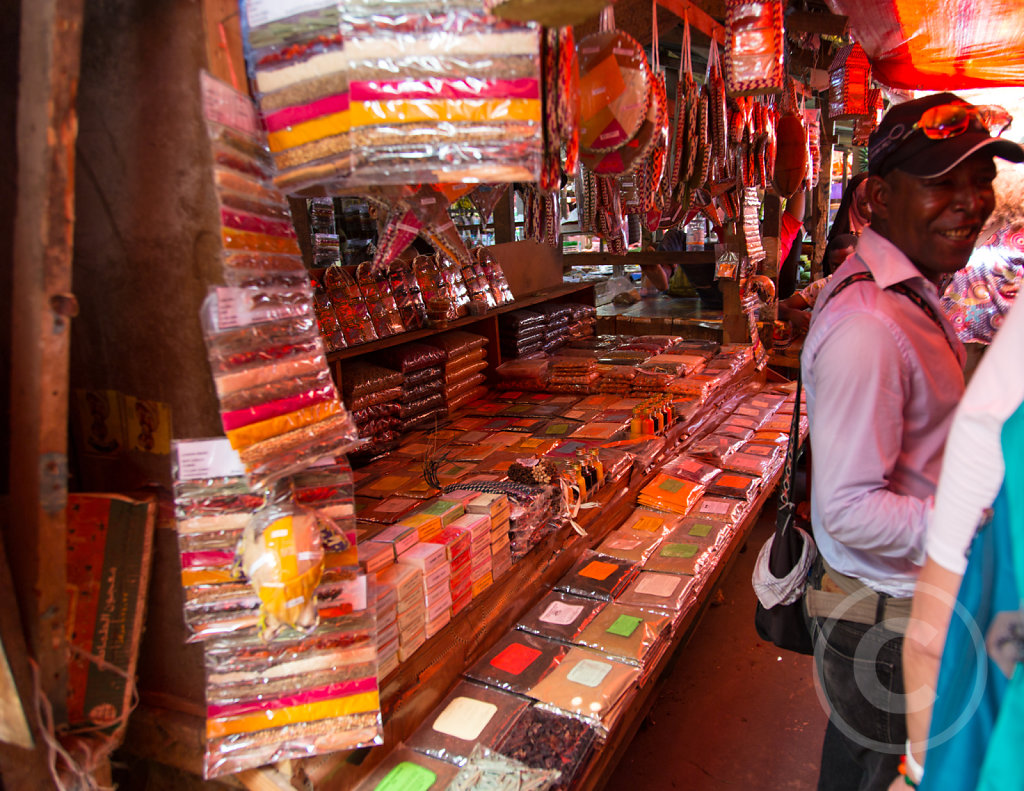 Spice market in Stonetown