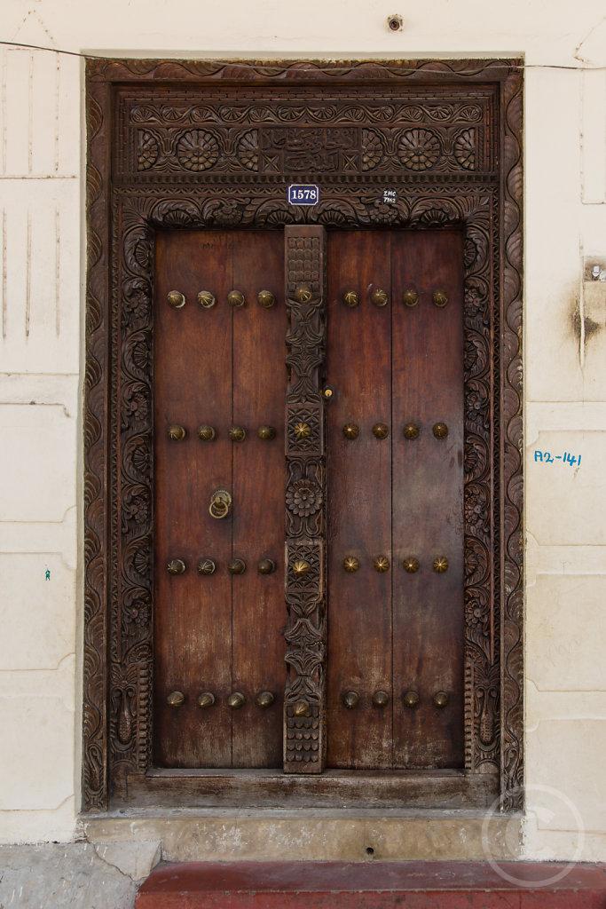 Famous Sansibar door