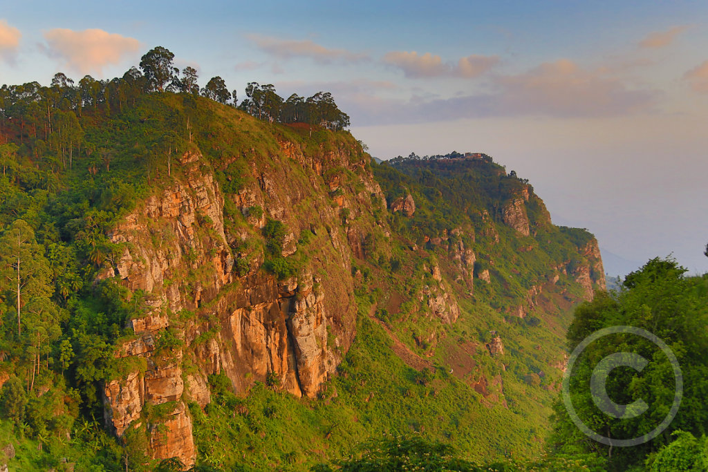 Sunset in the Usambara mountains