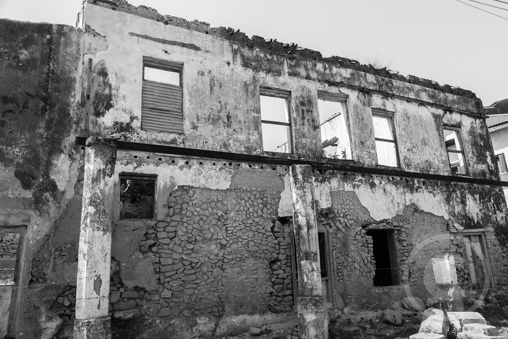 Bagamoyo is falling apart