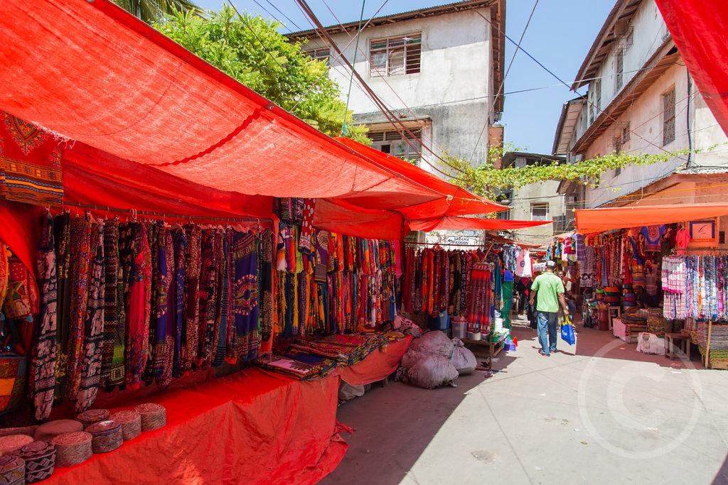 Market on Sansibar