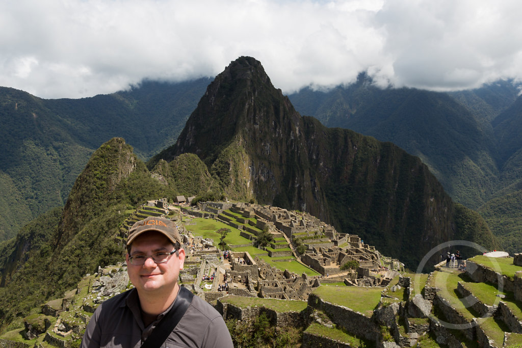 Myself (and Machu Picchu in the background)